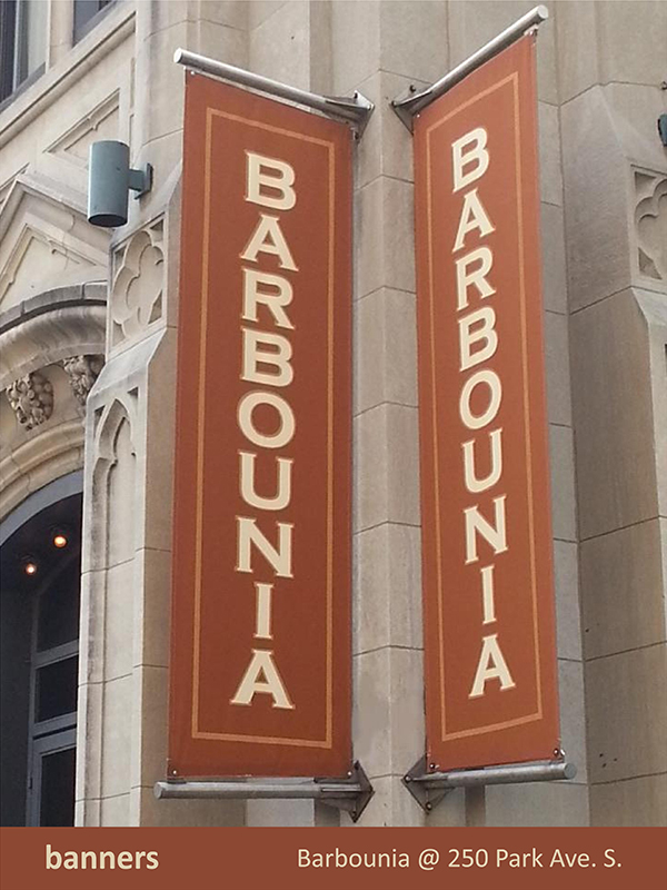 Barbounia Banners