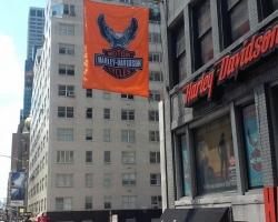 Harley Davidson - Flag