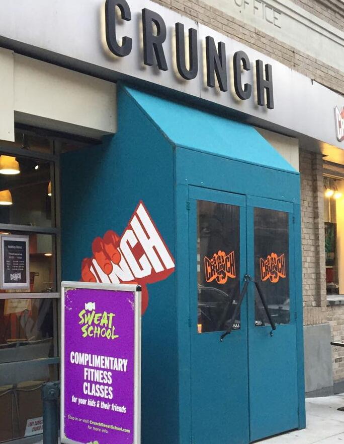 Crunch-Vestibule