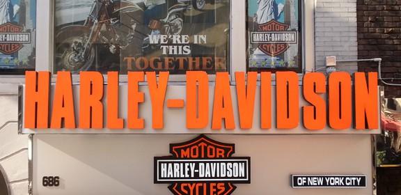 Harley Davidson Channel Letters